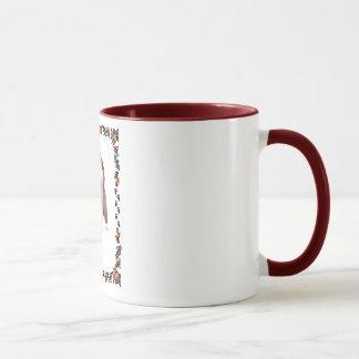 Mug Chiot barbu de colley