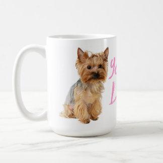 Mug Chiot de Yorkshire Terrier d'amour - Yorkie