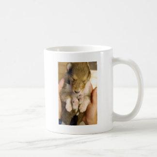 Mug Chiot nouveau-né de colley