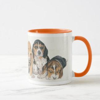 Mug Chiots de Basset Hound