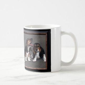 Mug Chiots de basset-hound
