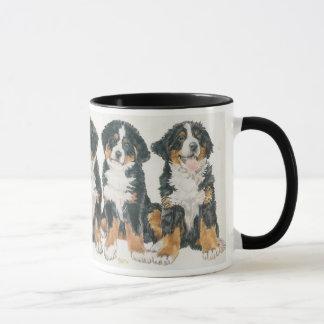 Mug Chiots de chien de montagne de Bernese