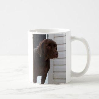 Mug Chocolat labrador retriever