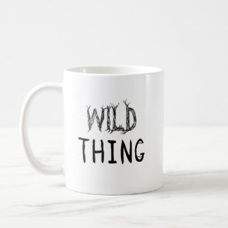 Mug Chose sauvage avec la lettre de racine