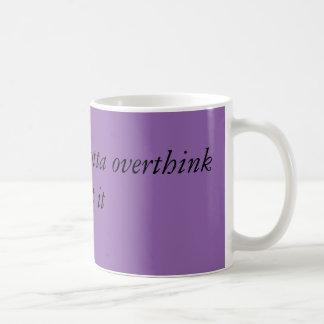 Mug Choses d'Overthink