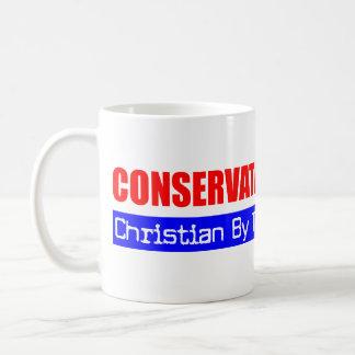 Mug Chrétien conservateur