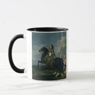 Mug Christina de la Suède (1626-89) à cheval, 1653 (
