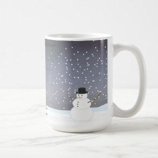 Mug Chute à l'hiver