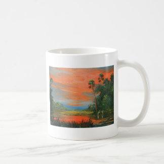 Mug Ciel du feu de marais
