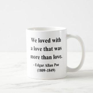 Mug Citation 12a d'Edgar Allen Poe