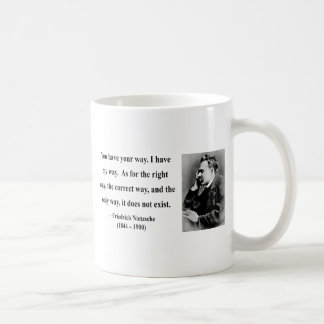 Mug Citation 1B de Nietzsche