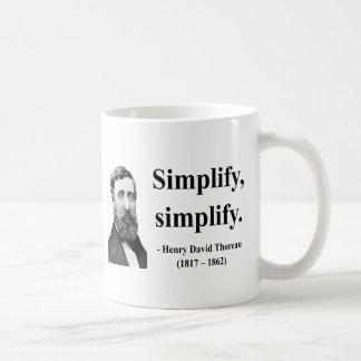 Mug Citation 1B de Thoreau