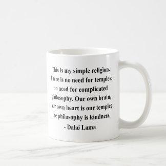 Mug citation 6a de Dalaï lama