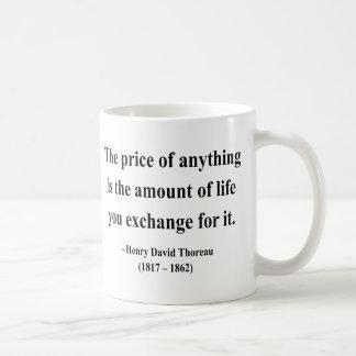 Mug Citation 6a de Thoreau