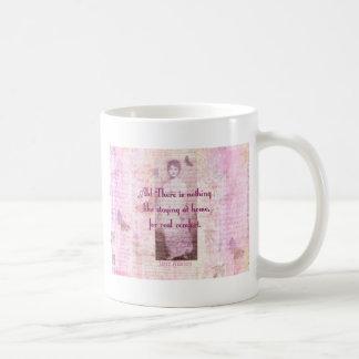 Mug Citation célèbre de Jane Austen au sujet de la