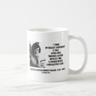 Mug Citation comparativement raisonnable de Jacqueline