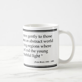 Mug Citation d'âge de Freya Stark