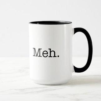 Mug Citation d'argot de Meh - le cool cite le modèle