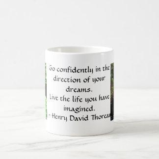 Mug CITATION de Henry David Thoreau