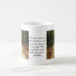 Mug Citation de motivation Bouddha inspiré