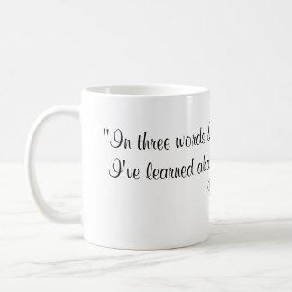 Mug Citation de Robert Frost