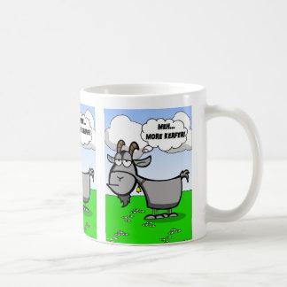 Mug Citation drôle de chèvre de bande dessinée