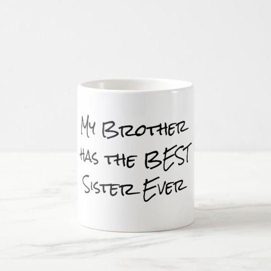 Relativ Mug Citation drôle de frère et de soeur | Zazzle.fr JJ19