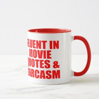 Mug Citations et sarcasme de film