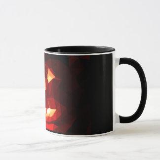 Mug citrouille low poly