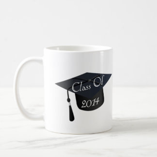 Mug Classe du casquette 2014 d'obtention du diplôme