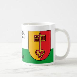 Mug Clé médiévale de ciel de Zilupe Lettonie