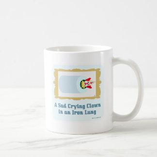 Mug Clown pleurant triste