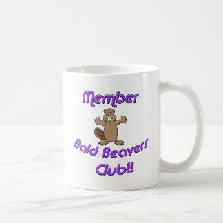 Mug Club chauve de castors de membre