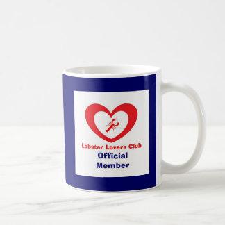 Mug Club d'amants de homard - membre officiel
