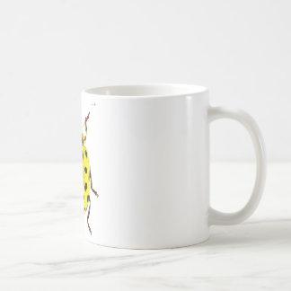 Mug coccinelle jaune