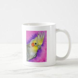 Mug Cockatiel de disco