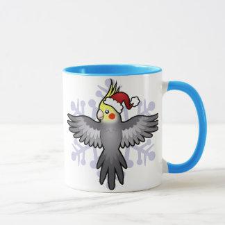 Mug Cockatiel de Noël