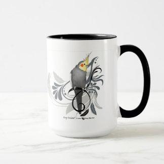 Mug Cockatiel gris