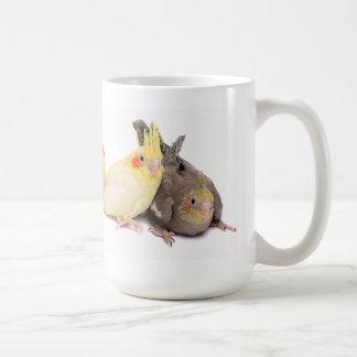 Mug Cockatiels
