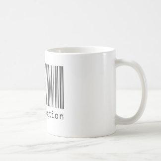 Mug Code barres - satisfaction