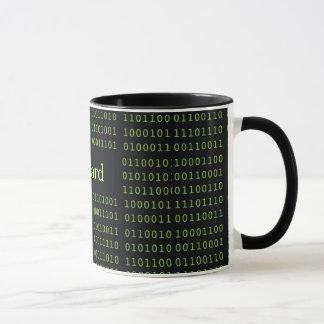 Mug Code binaire personnalisé
