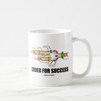 Mug Codé pour le succès (reproduction d'ADN)