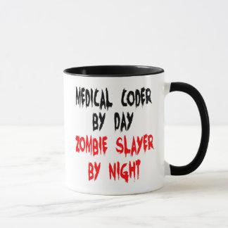Mug Codeur médical de tueur de zombi