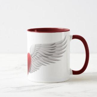 Mug Coeur à ailes
