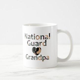 Mug Coeur Camo de grand-papa de garde nationale