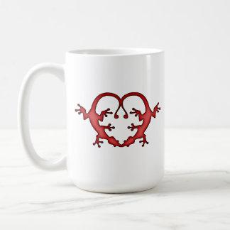 Mug Coeur de Gecko