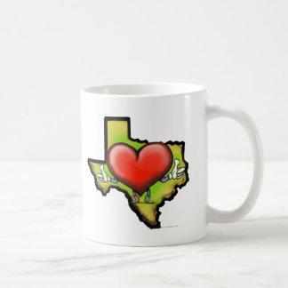 Mug Coeur du Texas