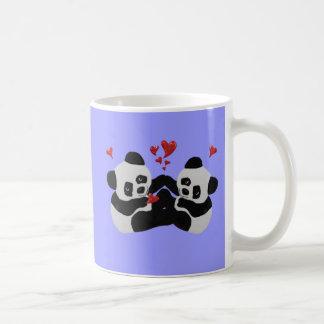Mug Coeurs précieux de panda