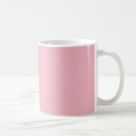 MUG COFFEE FIRST - BLANC SUR ROSE