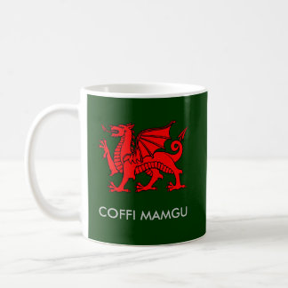 Mug Coffi Mamgu - café de Nan dans Gallois du sud